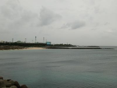 宜野湾市の海・釣りスポット コンベンション方面
