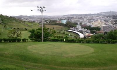 マリンタウンゴルフのゴルフ場から見渡せる景色